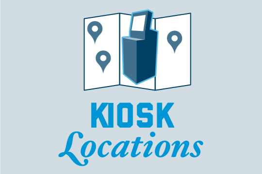 Kiosk Locations